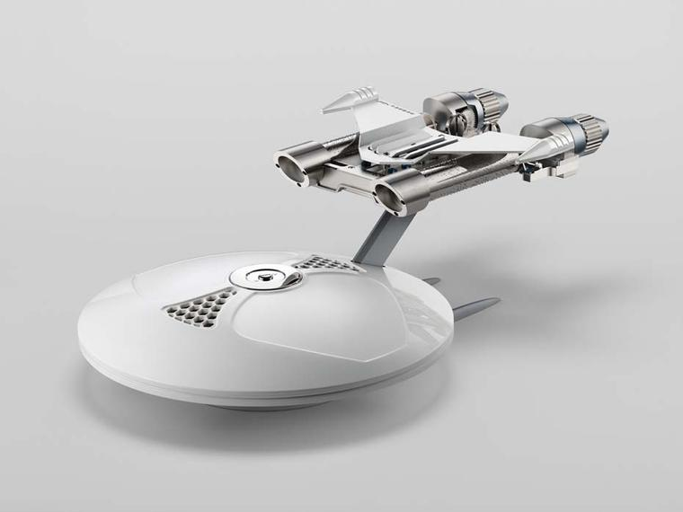 The MB&F team come up with a space inspired music box that is provocative and beautifully manufactured