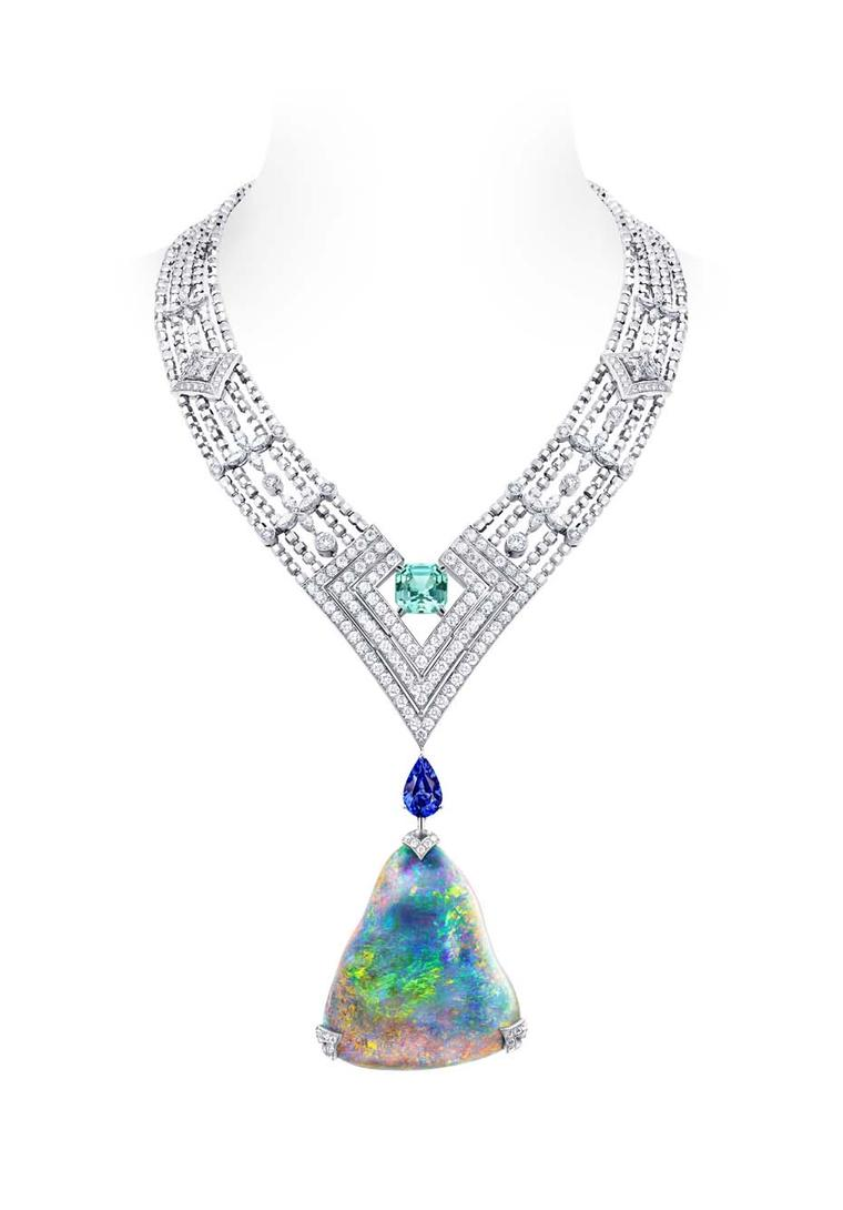 Luxury opal jewellery: new high jewellery for 2014 transforms opals into abstract works of art