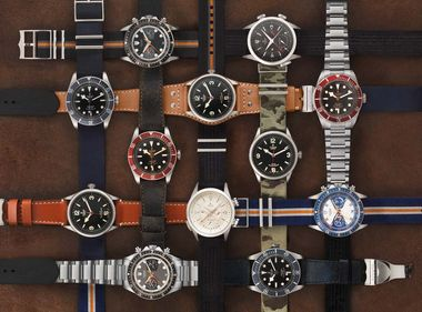 A wide range of models from the Tudor family of watches will be available from the 19 September 2014 in 100 stores across the country. Prices range from £1,370 and £5,440.
