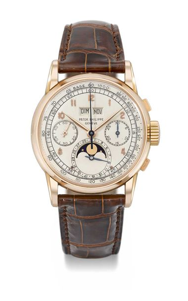 Although the owner has not been revealed in the case of the Patek Philippe watch Reference 2499 First Series, this 1951 perpetual calendar wristwatch is the only pink gold example with English import marks.