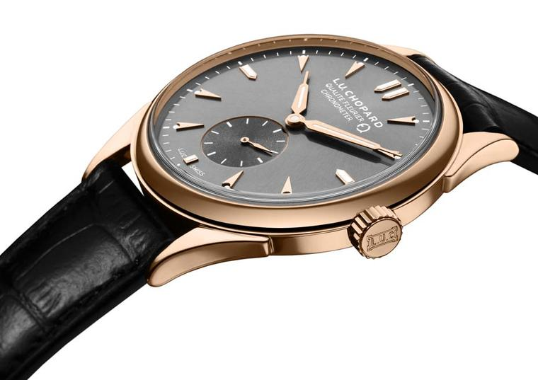 The elegant Chopard L.U.C Qualité Fleurier automatic 39mm rose gold watch features not one but three separate certifications of excellence.