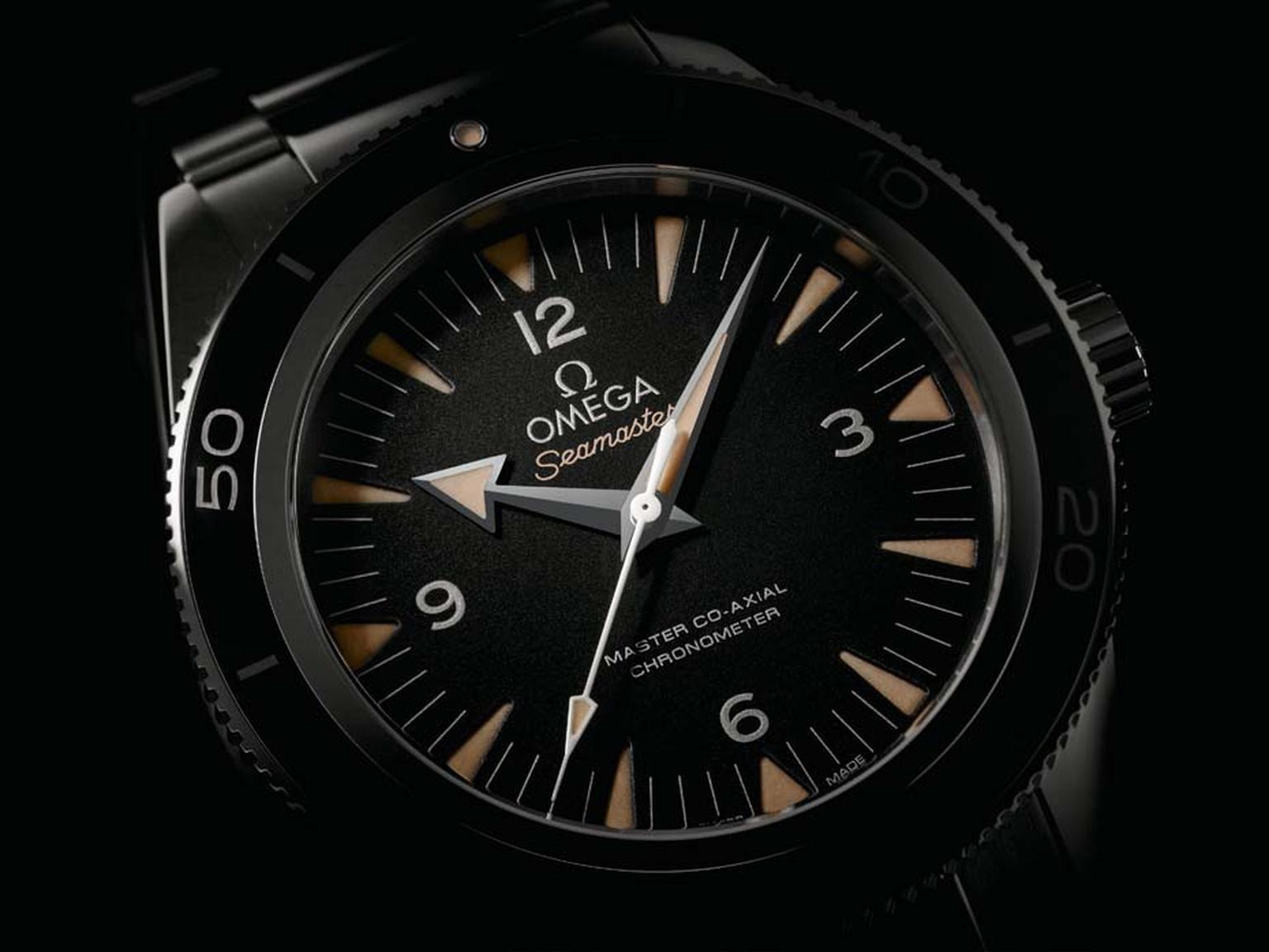 The new 41mm Omega Seamaster 300 is equipped with proprietary Co-Axial technology with a COSC-certified chronometer and for extra measure  an anti-magnetic shield that protects it from fields of up to 15,000 gauss.