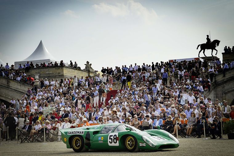 The history of motor cars was displayed during the three different competitions - or concours - held at Chantilly.