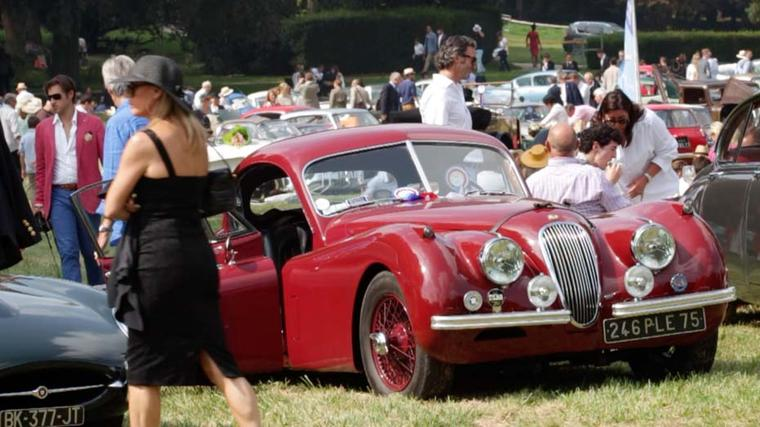 A parade of 500 classic, vintage and concept cars, which competed in various categories, was the main focus at Chantilly Arts & Elegance.
