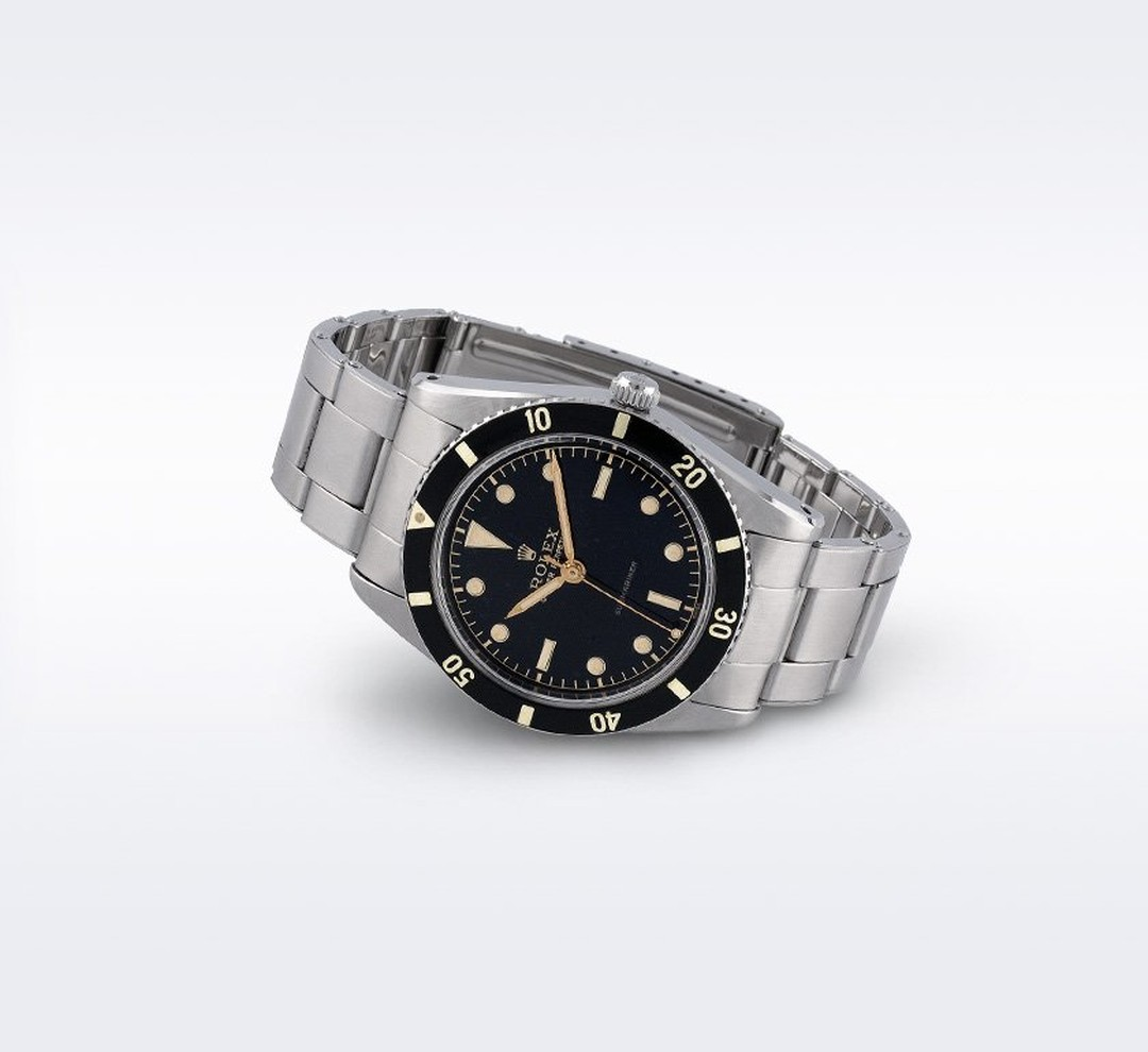 The Rolex Submariner was the first diver watch capable of withstanding depths of 100 metres and the official watch of the Royal Navy.