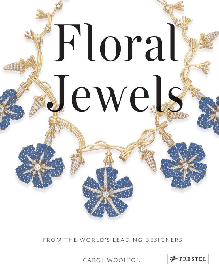Inside her new book, author and jewellery editor of British Vogue, Carol Woolton, expertly guides the reader through the history of floral jewellery, accompanied by a series of 200 photographs, illustrations, original sketches and gouaches.