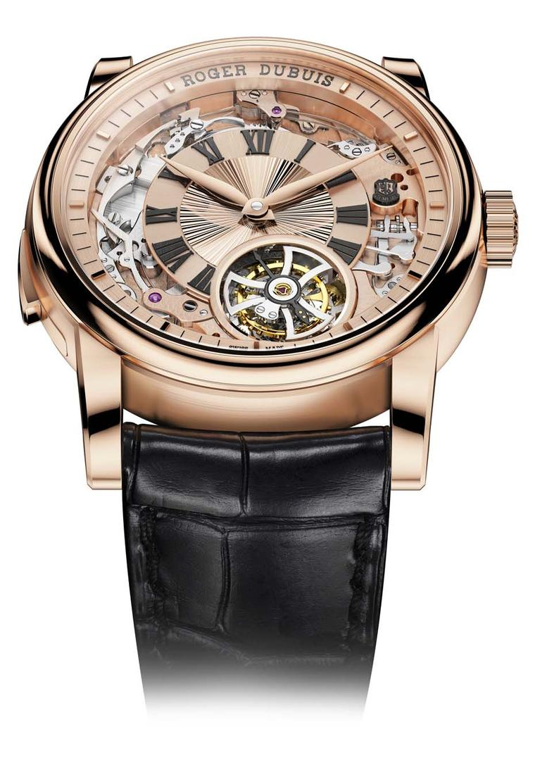 The Roger Dubuis Hommage Minute Repeater Tourbillon Automatic watch, set to be unveiled at Watches&Wonders in Hong Kong, is limited to 20 pieces and celebrates the Swiss watchmaker's 20th anniversary.