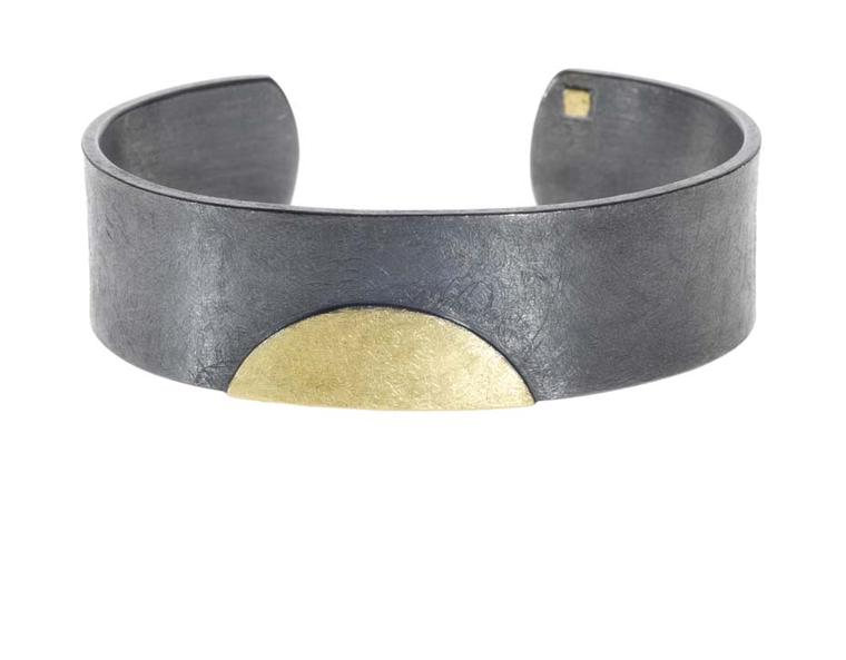 Todd Reed bracelet for men in gold and silver.