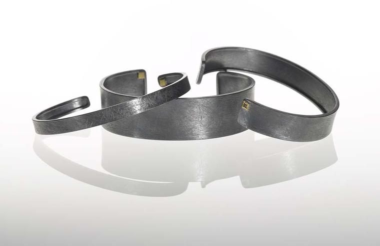 Todd Reed sterling silver bracelets for men.