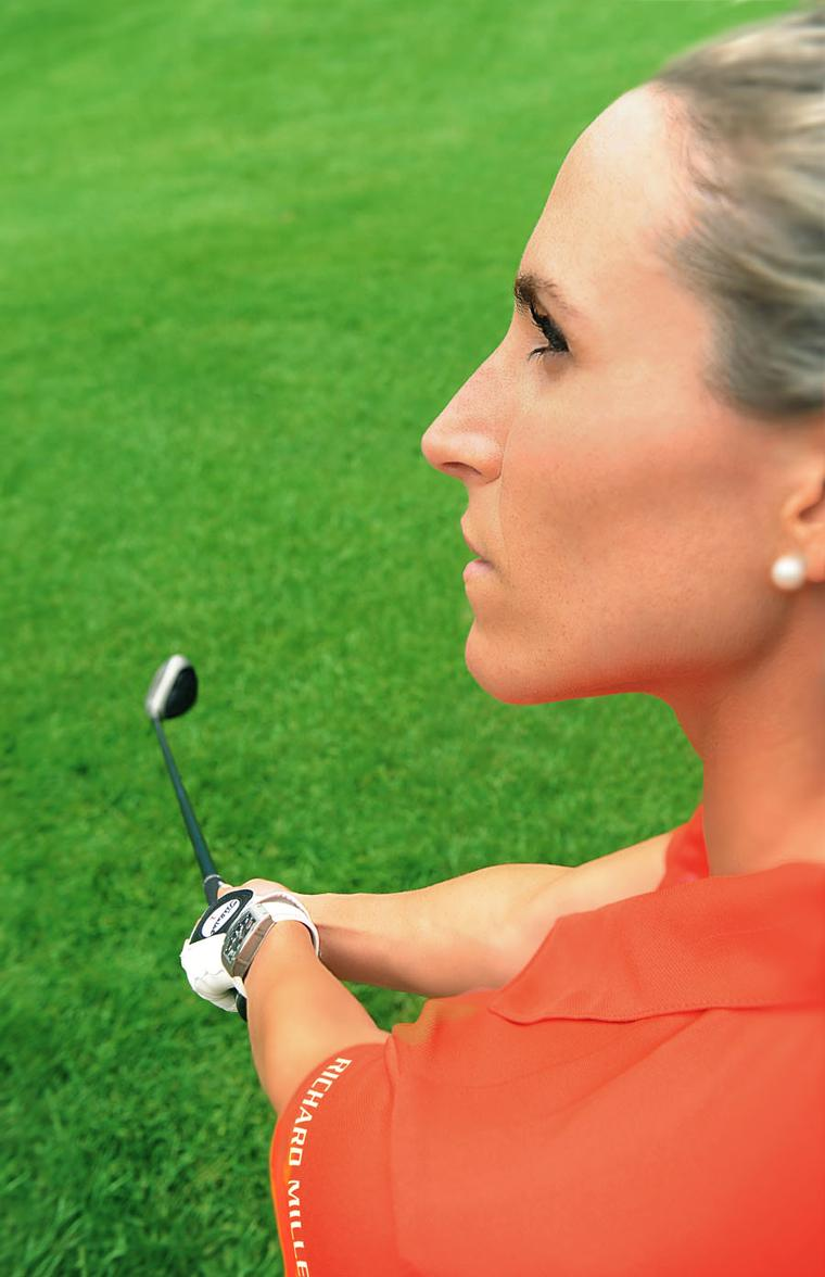 In 2013, Richard Mille appointed Italian golfing champion Diana Luna as its first women's sporting partner.