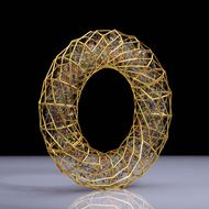 Giovanni Corvaja: ethereal objects spun from threads of precious metal