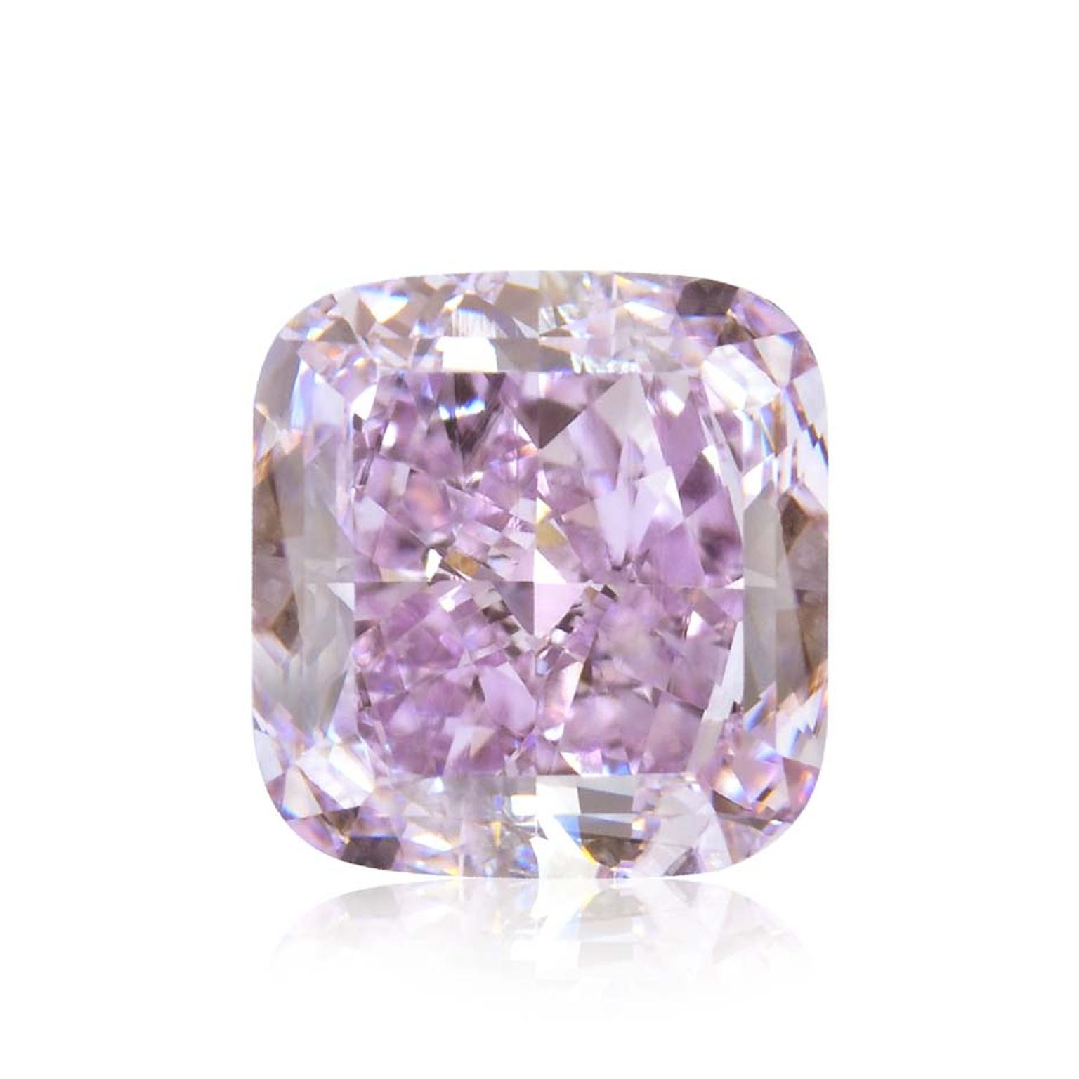 Weighing 3.37ct, Liebish & Co's rare purple diamond is estimated to be worth US $4 million.