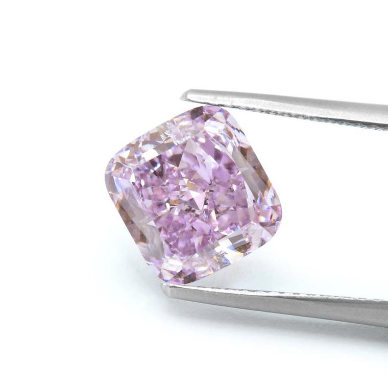Christened the Purple Orchid thanks to its intense colour, which mimics that of a purple orchid in full bloom, the 3.37ct purple diamond was mined in South Africa and cut by Leibish & Co.