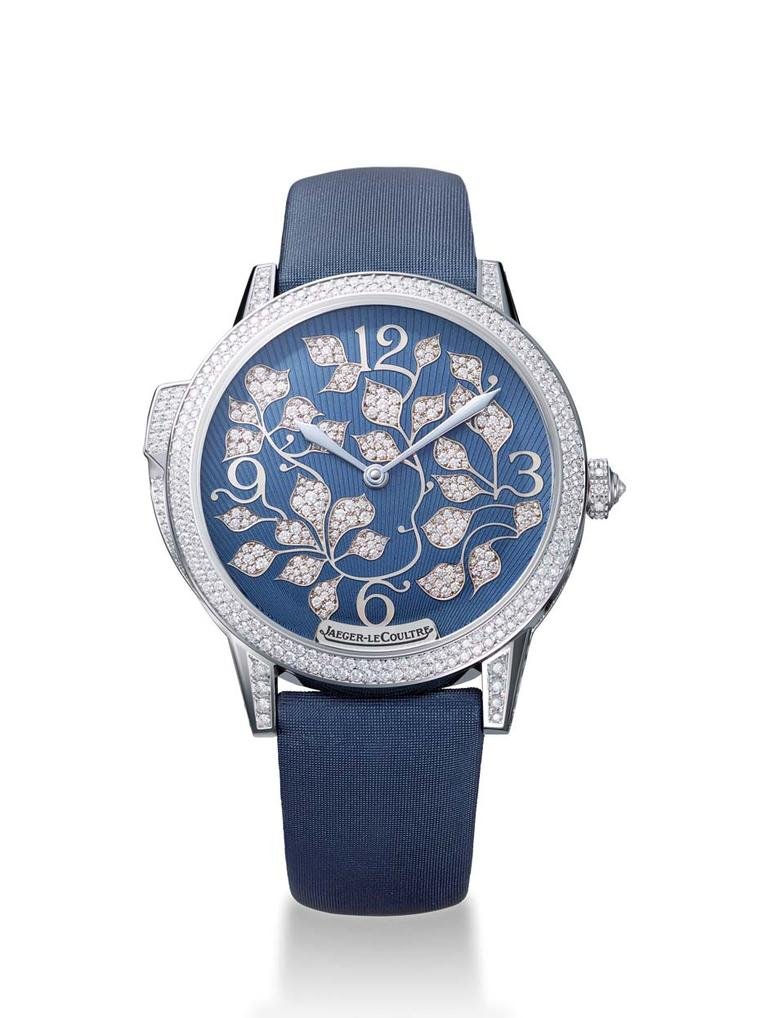 Jaeger-LeCoultre's new Rendez-Vous Ivy Minute Repeater watch is the first minute repeater designed exclusively for women by the Swiss watchmaker.