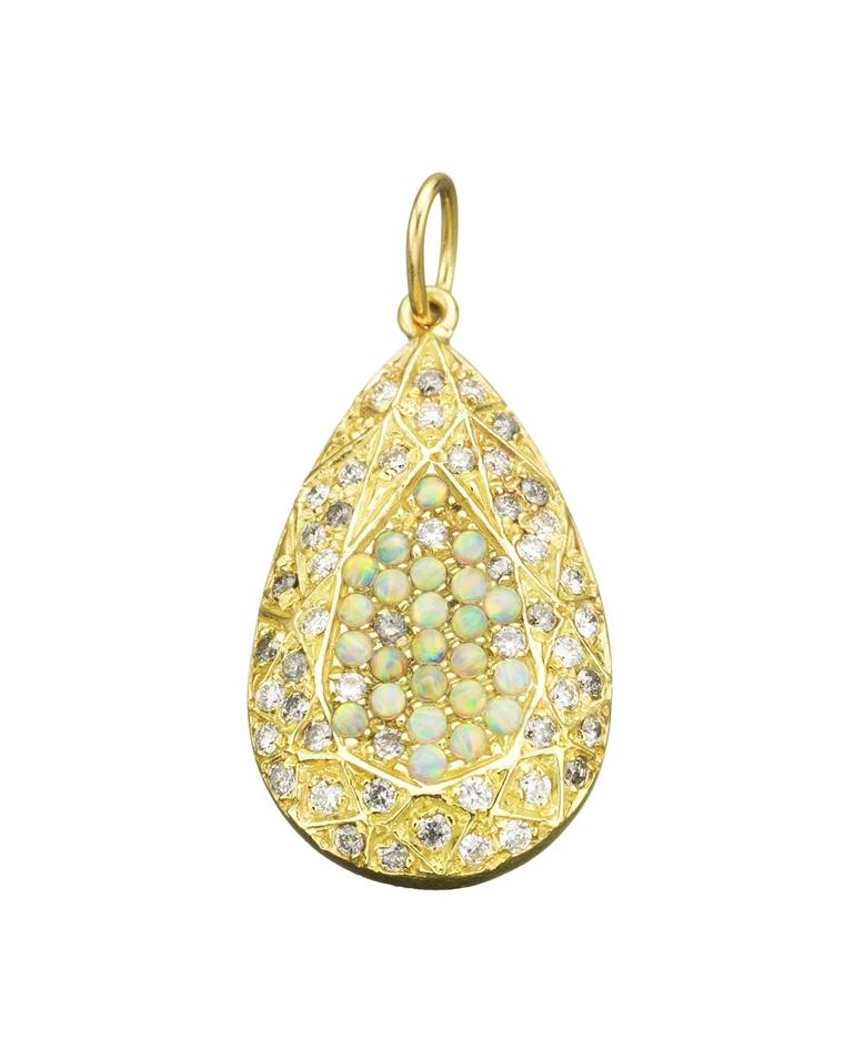 Carolina Bucci Looking Glass opal pendant.