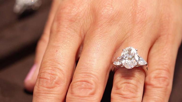 There are diamond shapes to suit every size and shape of hand. For example, a pear cut has the effect of elongating the fingers while the brilliant cut suits all types of hands.