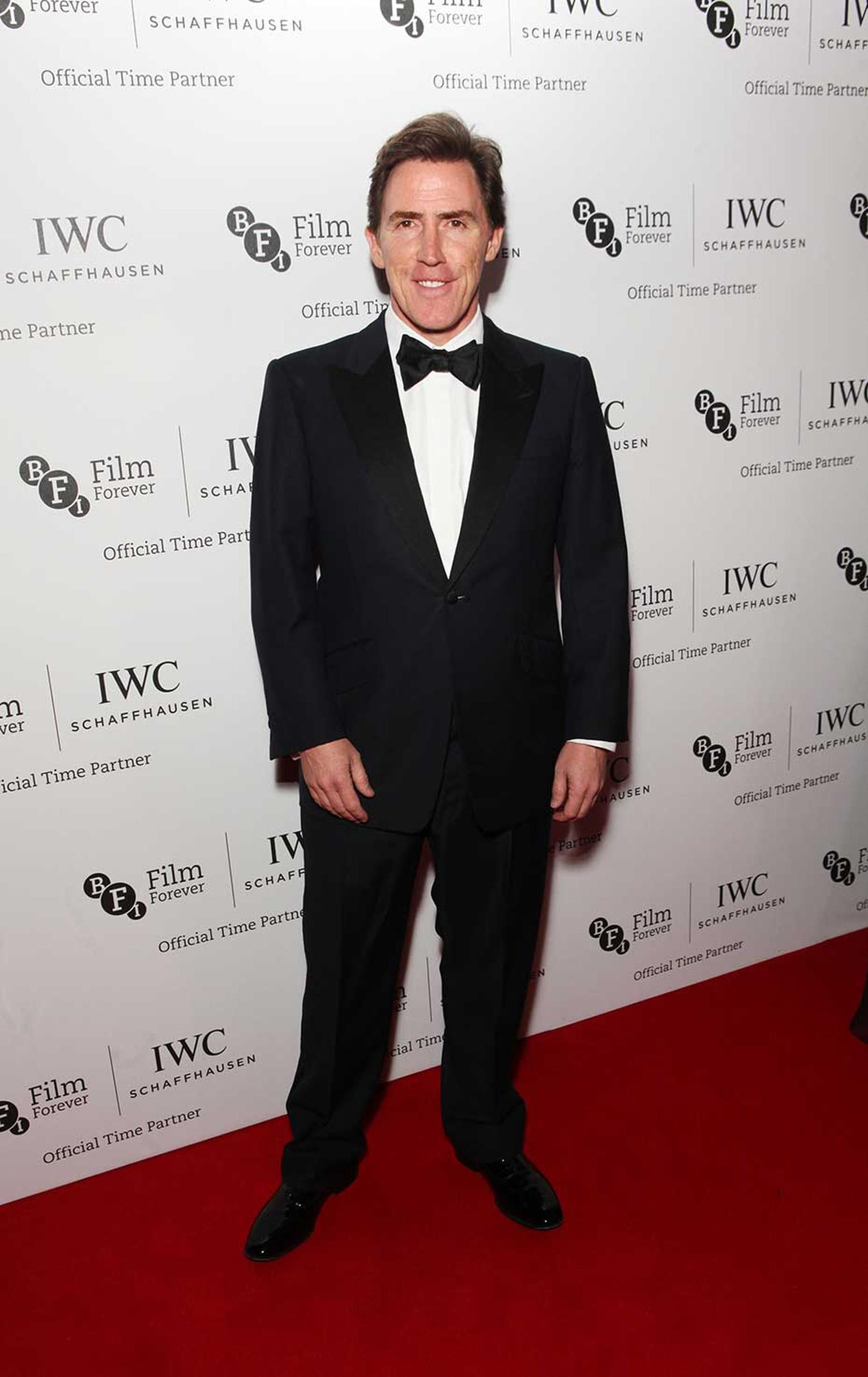British comedian Rob Brydon, who sang and joked throughout the IWC Gala Dinner, led the entertainment. Image by: IWC/David M. Benett/Getty Images