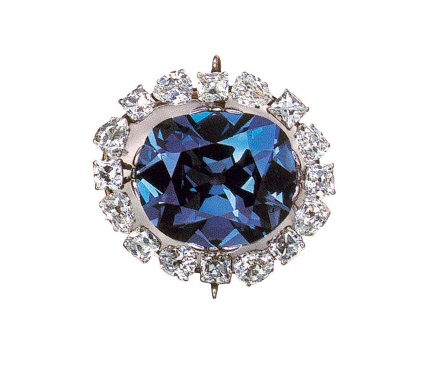 "Described as ""the most famous diamond in the world"", the 45.52ct deep-blue Hope Diamond, which was in Cartier's ownership in the early 1900s, is now on display at the Smithsonian Museum in Washington, DC."