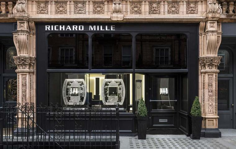 Thanks to buoyant sales, Richard Mille watches has been seduced by one of London's most prestigious locations and opened its first stand-alone boutique on 90 Mount Street in Mayfair.
