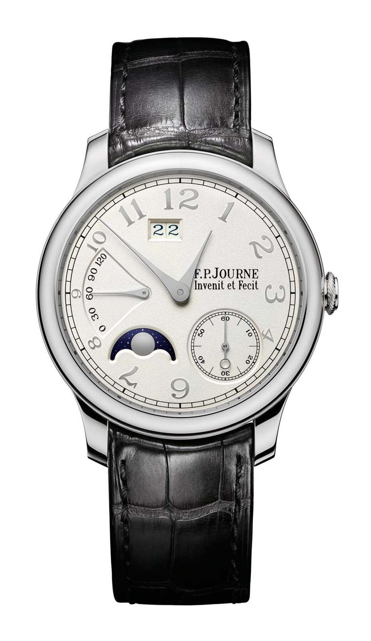 F.P. Journe platinum Octa Lune watch.
