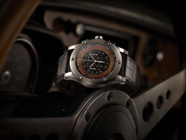 The new Ralph Lauren Automotive Chronograph watch combines sleek retro styling with a top notch Swiss engine