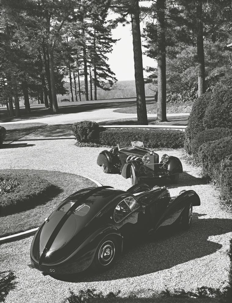 Ralph Lauren's black Bugatti 57CS Atlantic Coupé