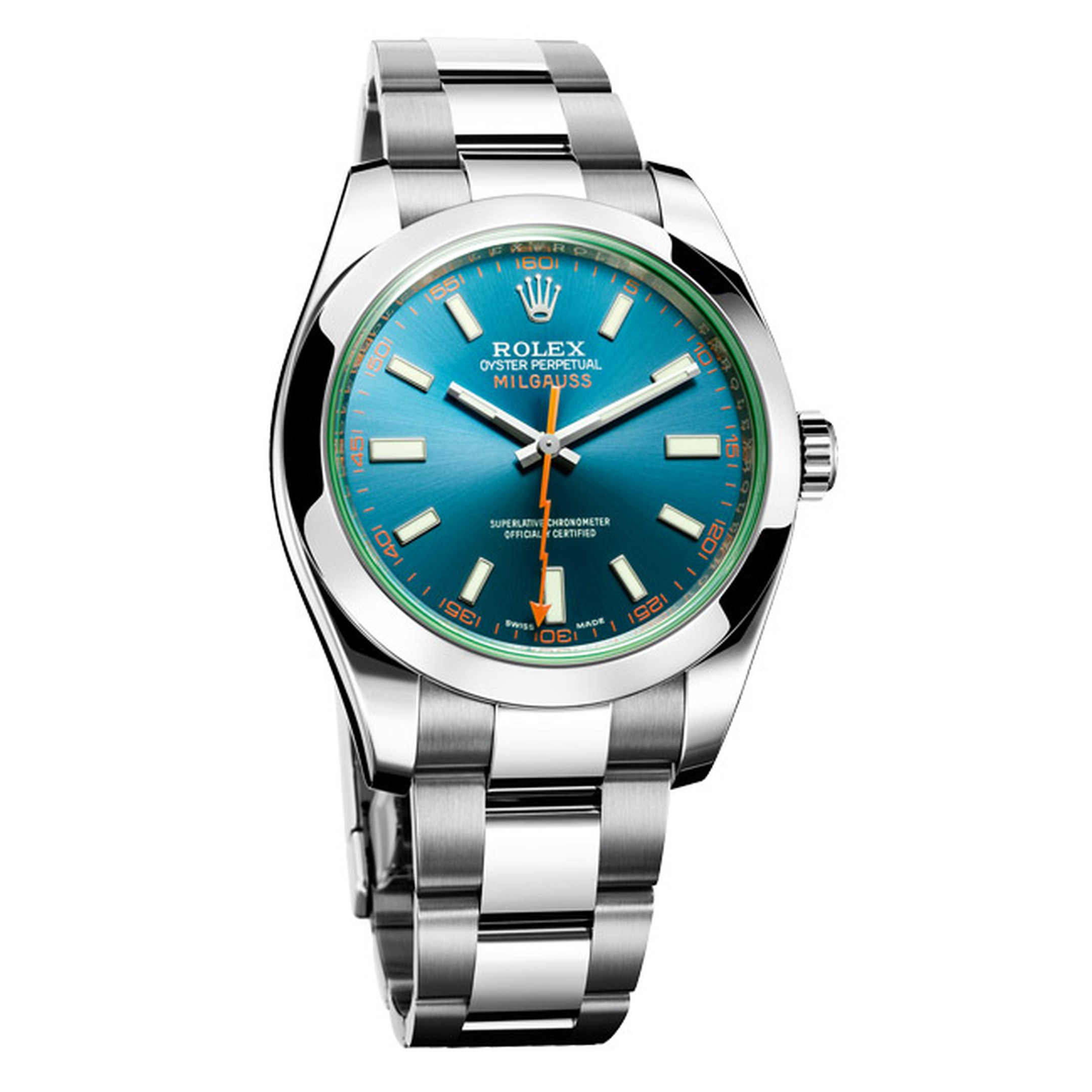 Rolex Milgauss Z-blue watch