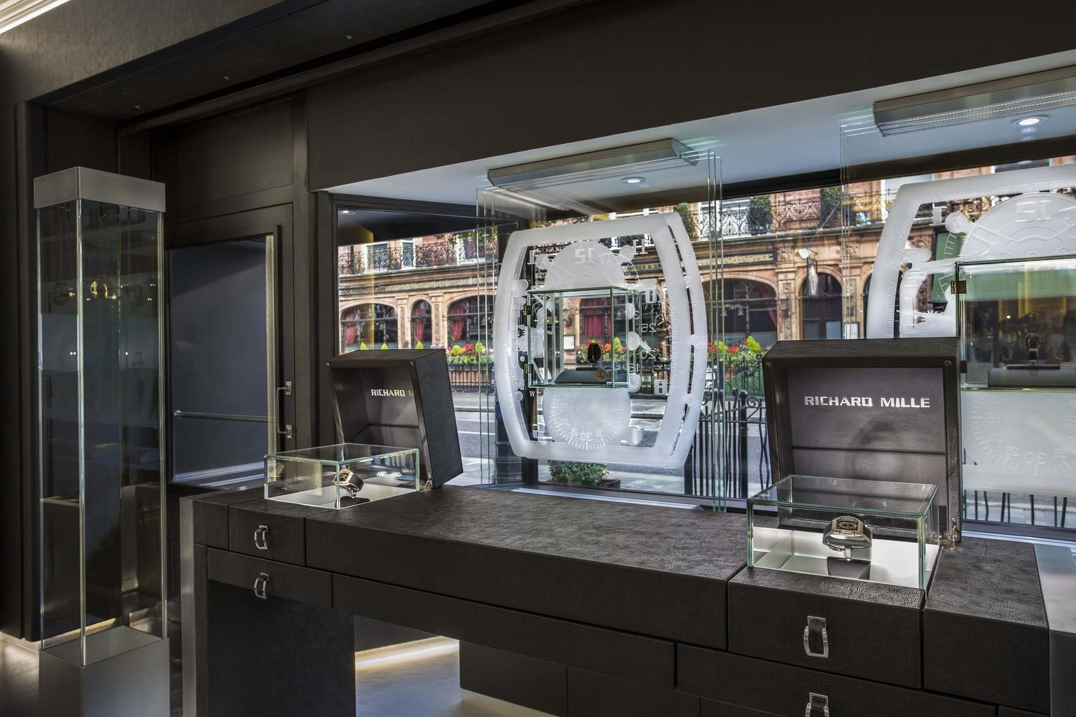 """Opening the boutique in London gives prominence to the brand's global presence and we are delighted to be part of this distinguished and vibrant area of London,"" says Richard Mille CEO of Europe, the Middle East and Africa, Peter Harrison."