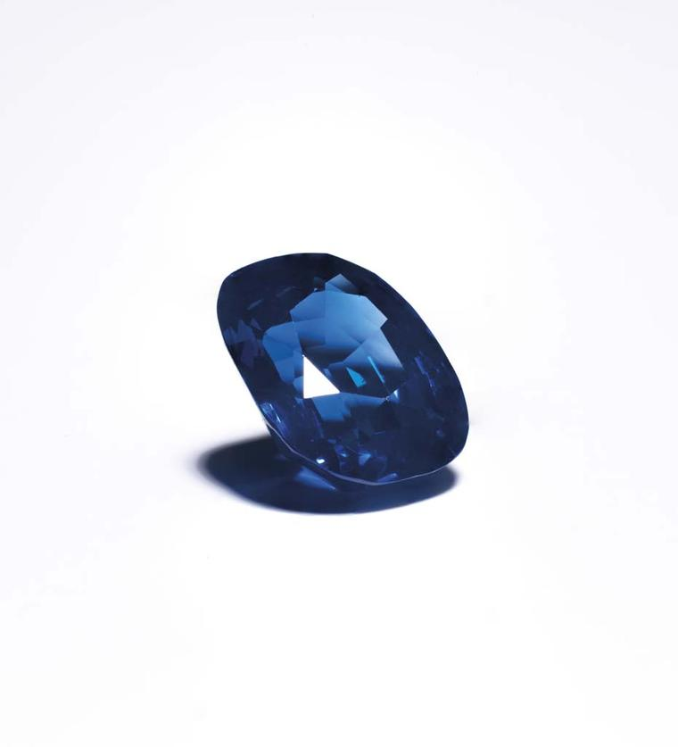 The star attraction at Christie's Important Jewels sale in London yesterday was the 14.66ct untreated sapphire known as The Royal Blue, which fetched £1,398,500 (estimate: £400,000-£500,000).