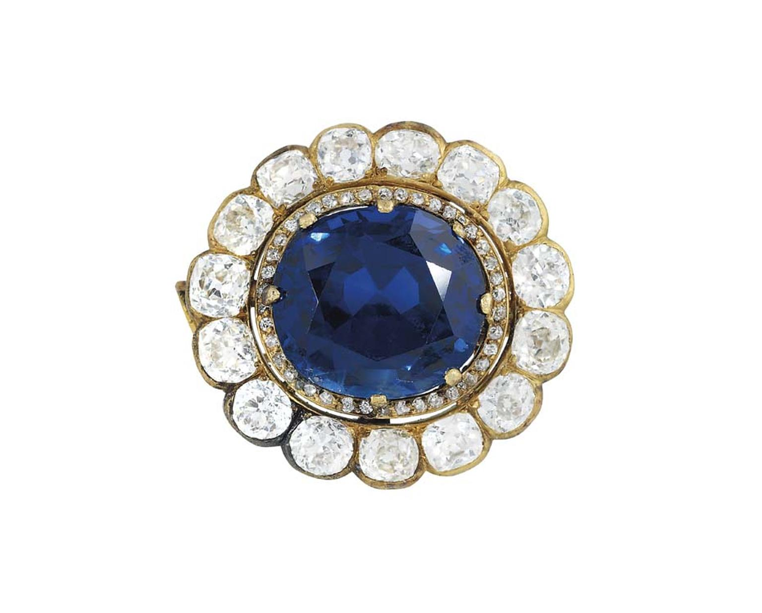 Lot 252 at Christie's sale of Important Jewels in London was a sapphire and diamond pendant set with a 41.00ct Burmese sapphire. It more than tripled its estimate to sell for £1,034,500 (estimate £200,000-300,000).
