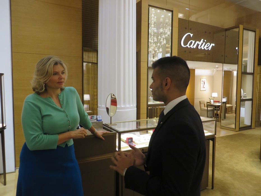 Talking engagement rings with Cartier's bridal expert.