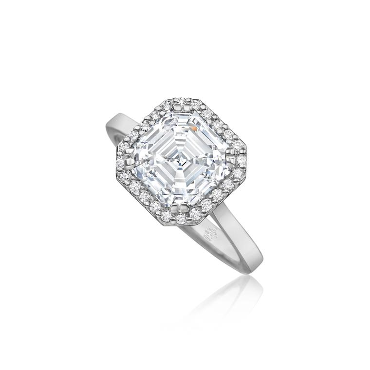 A cut above: why Asscher cut diamond engagement rings are back in the limelight