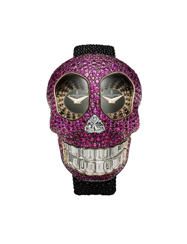 de GRISOGONO watches: ghoulish fun with the new Crazy Skull high jewellery watch