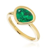A Gemfields emerald ring that celebrates motherhood and a good cause in Zambia