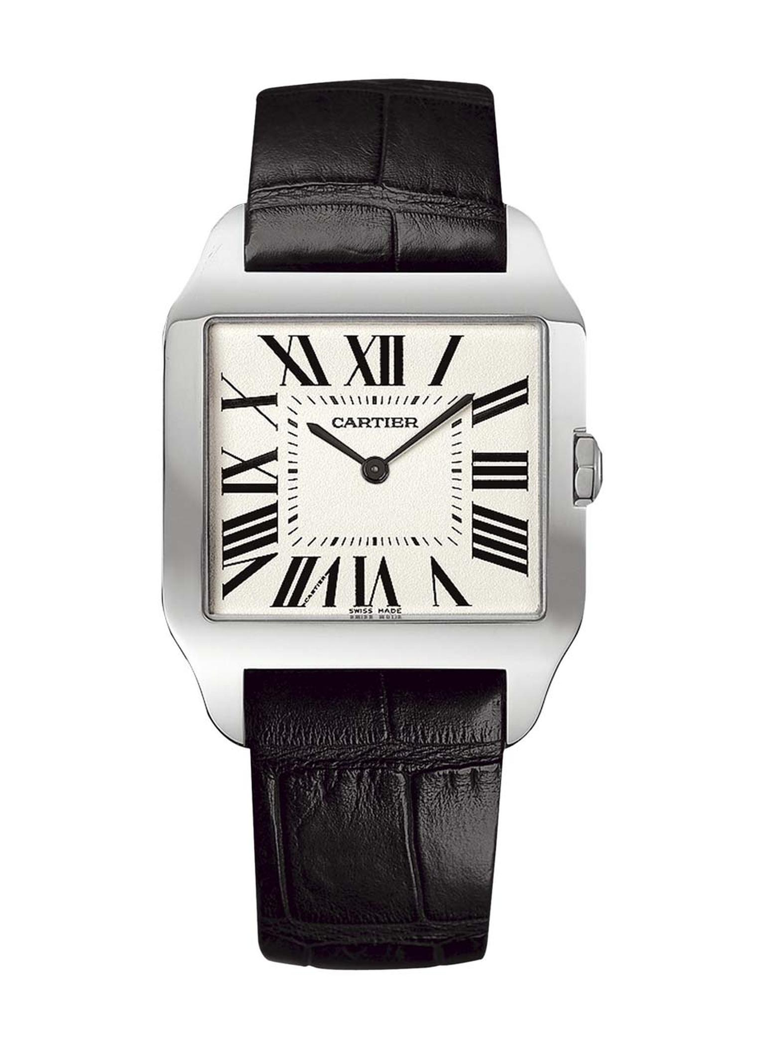 A classic Cartier Tank watch for men is one of the cornerstones of the brand's 110 history of watchmaking.