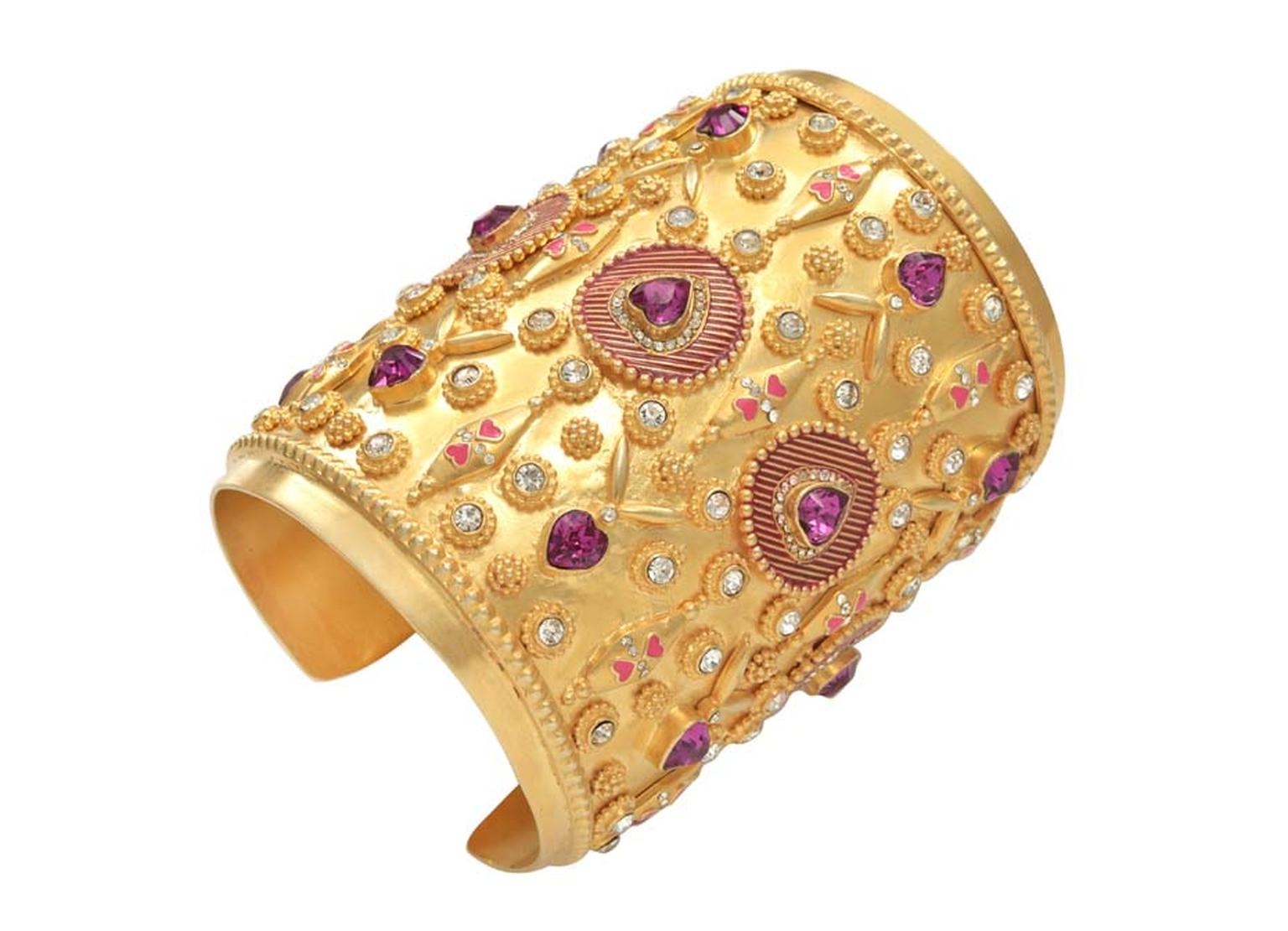 Manish Arora and Amrapali's Bola cuff from their latest AW 2014-15 collection.
