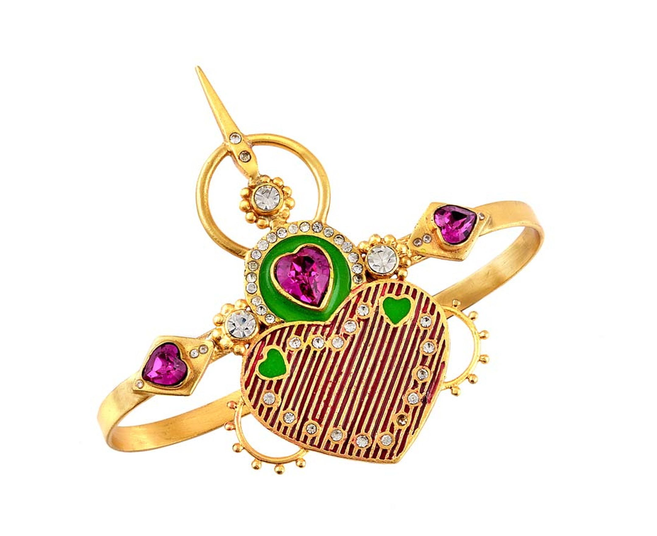 Iris handcuff from the Amrapali and Manish Arora AW 2014-15 collection.