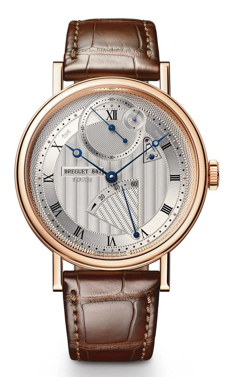 Breguet's Classique Chronométrie took home the GPHG's grand prize, known as the Aiguille d'Or - or golden hand. With its handsome, classically-styled dial, the movement of the watch is anything but classical. Inside the 41mm rose gold case is a state-of-t