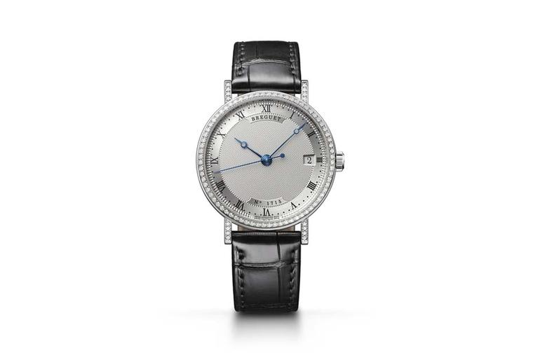 The GPHG Prize awarded by the Public was for the ladies' Breguet Classique Dame in white gold with a sprinkling of diamonds.