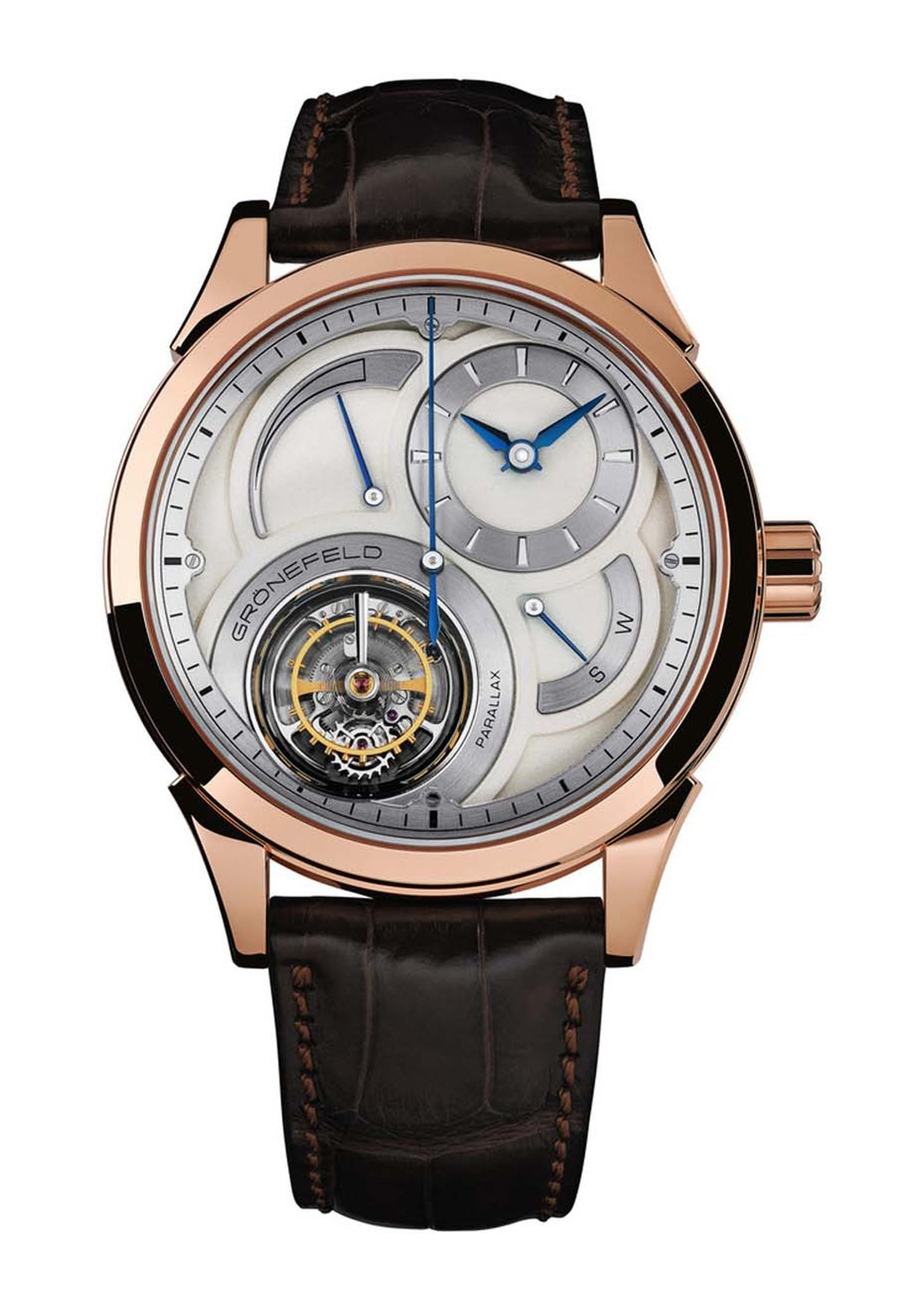 Grönefeld's Parallax Tourbillon watch took the Tourbillon Prize at the GPHG.