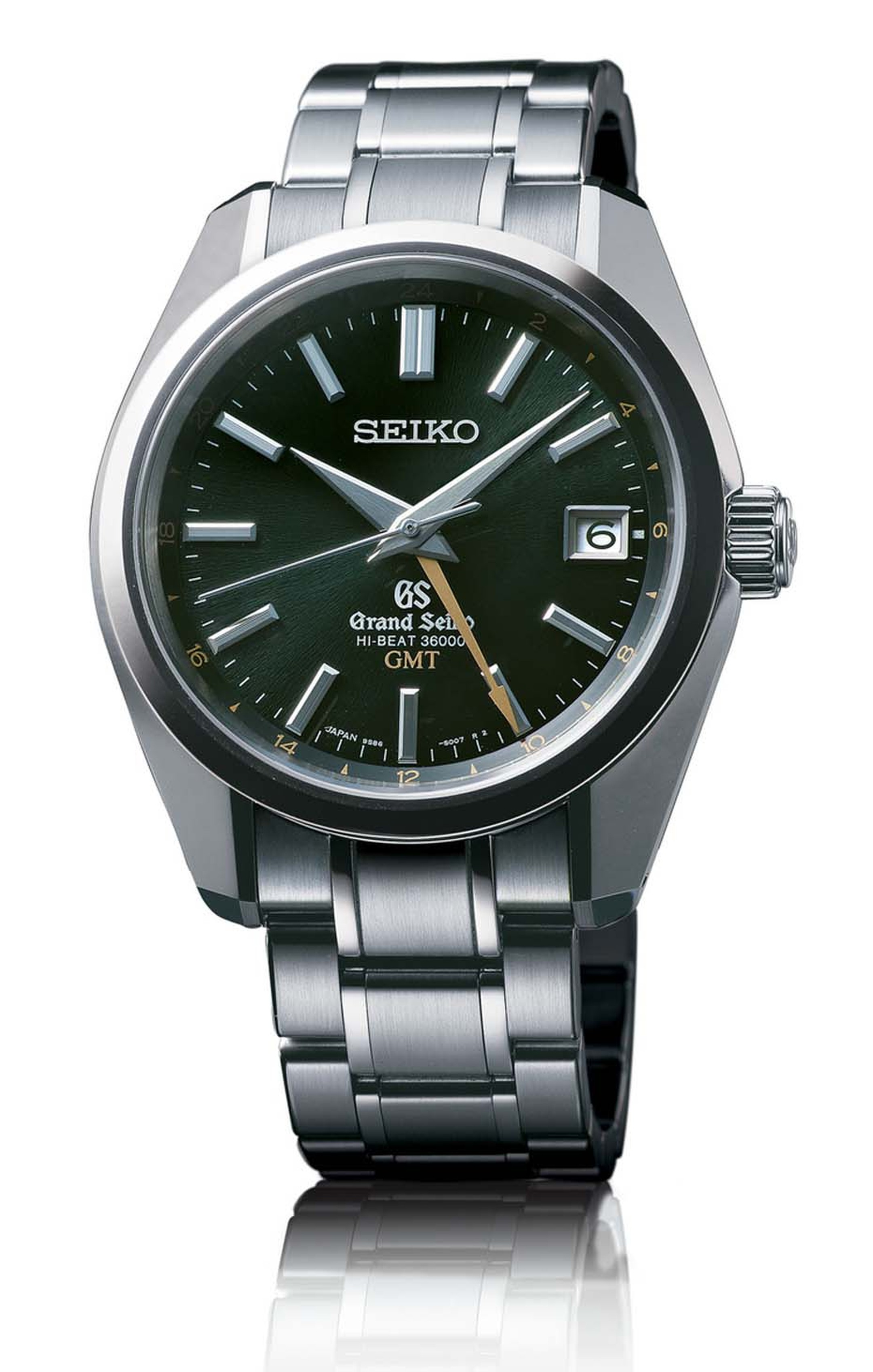 Seiko's Grand Seiko Hi-Beat 36000 GMT watch secured the Petite Aiguille (little hand) prize at the GPHG which was awarded to watches under CHF 8,000.