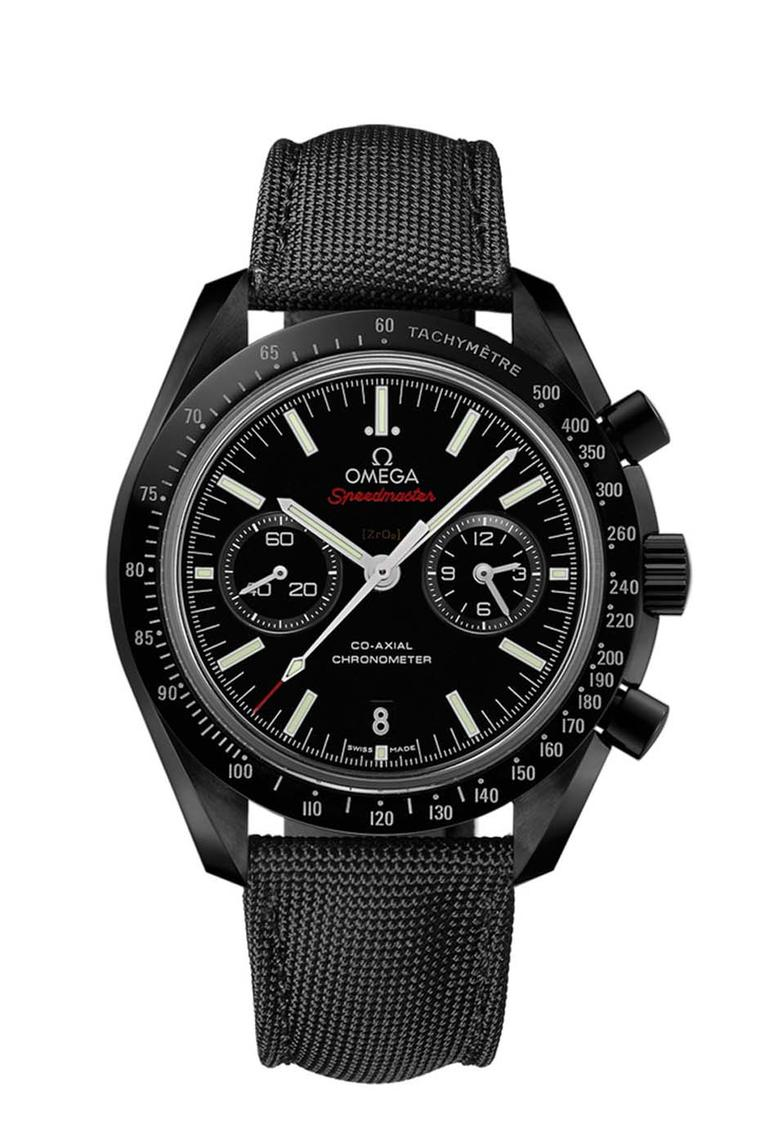 Omega was awarded the Revival Watch prize for its Speedmaster Dark Side of the Moon chronograph.