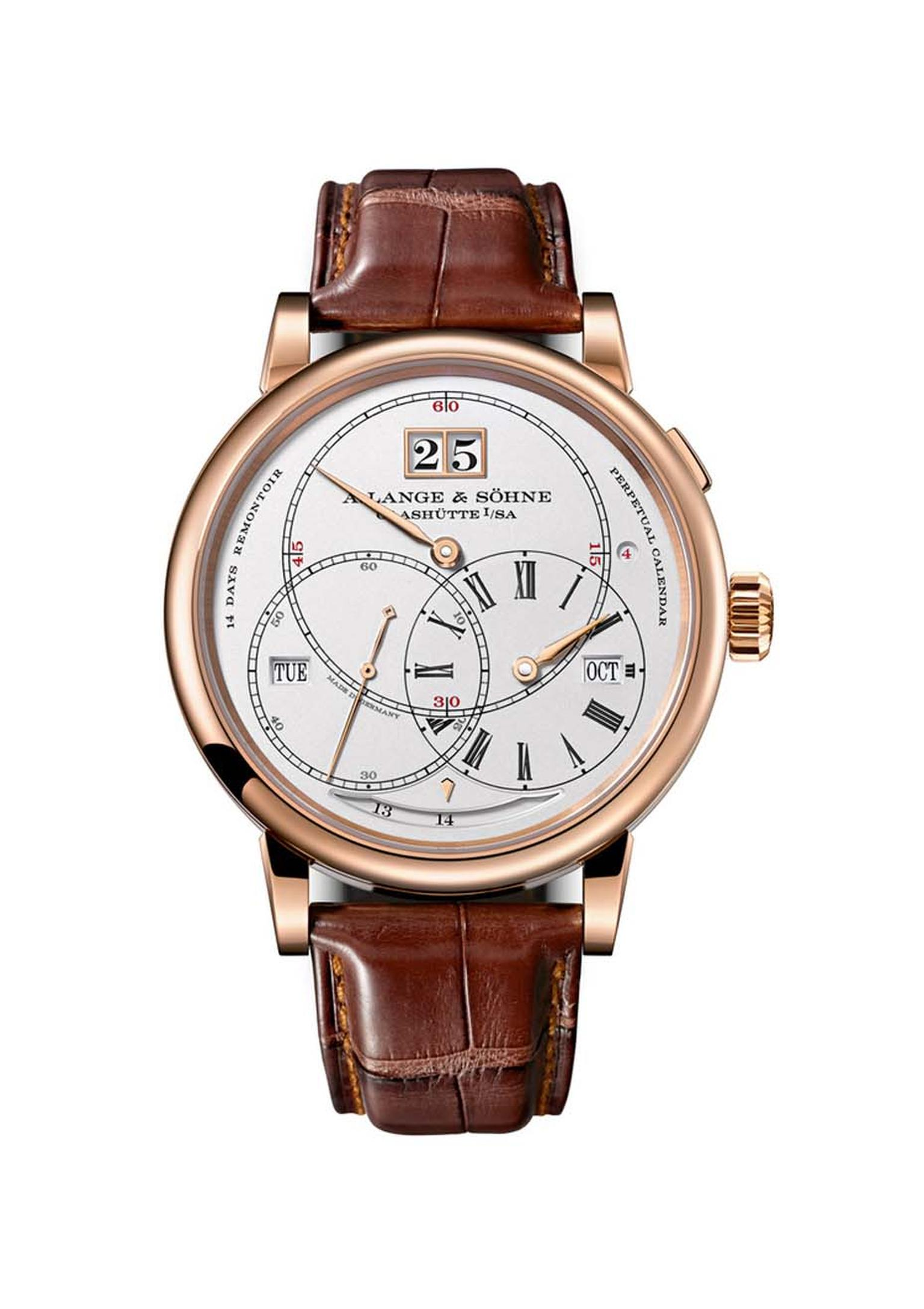 The GPHG Calendar Watch Prize went to A. Lange & Söhne's Richard Lange Perpetual Calendar Terraluna watch.