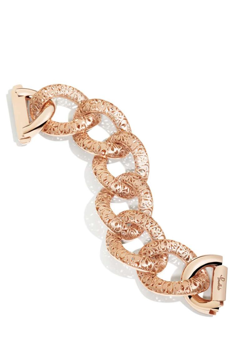 Pomellato Arabesque collection bracelet in rose gold (£23,800).