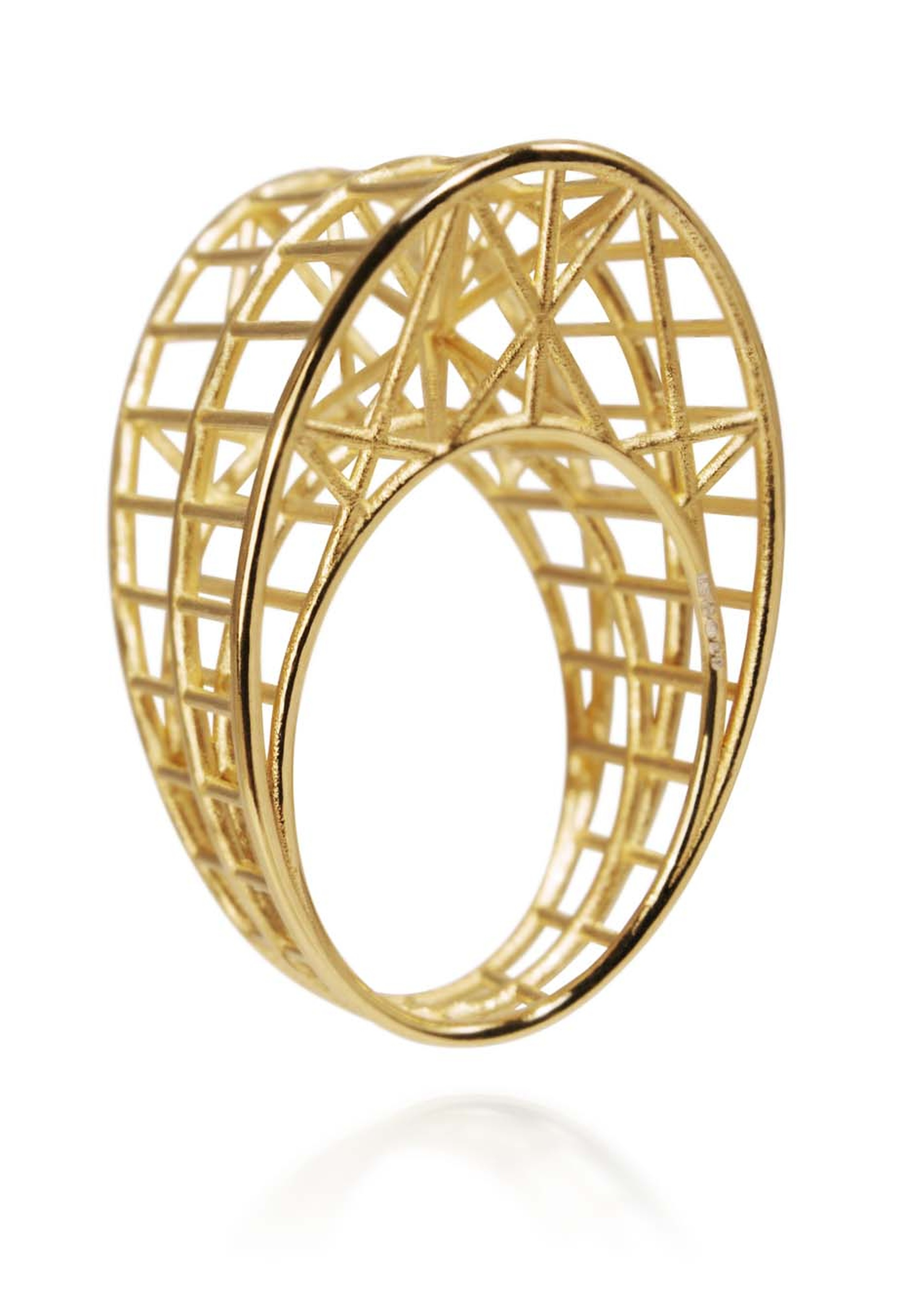Jennifer Saker Draper gold ring.