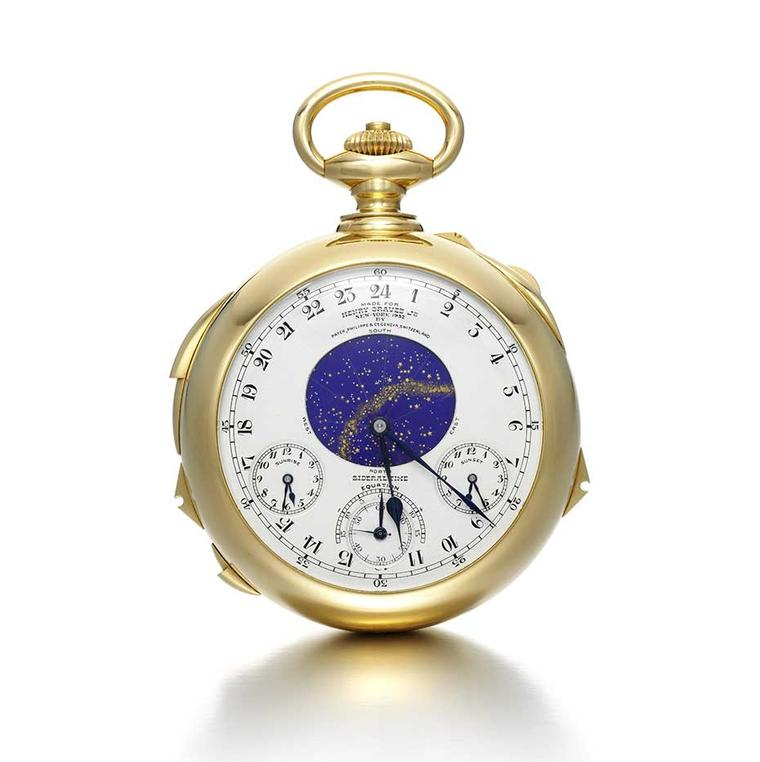 Patek Philippe Henry Graves Supercomplication pocket watch