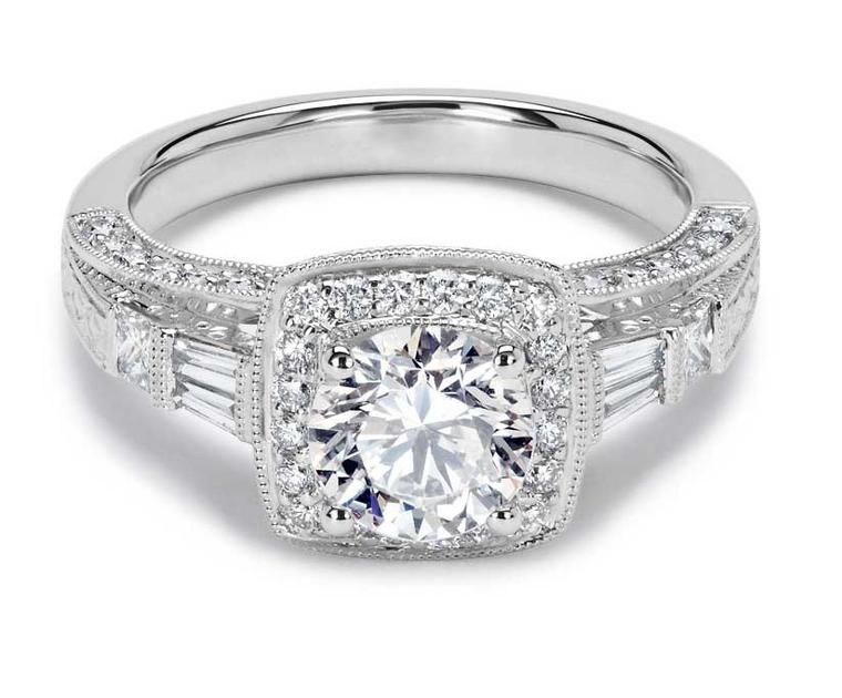 77Diamonds Grimaldi diamond engagement ring.