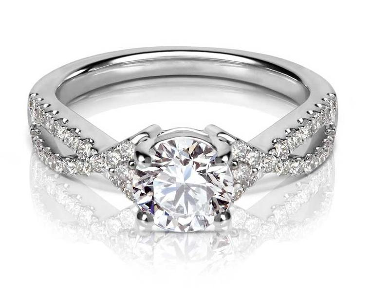 77Diamonds Lola diamond engagement ring.
