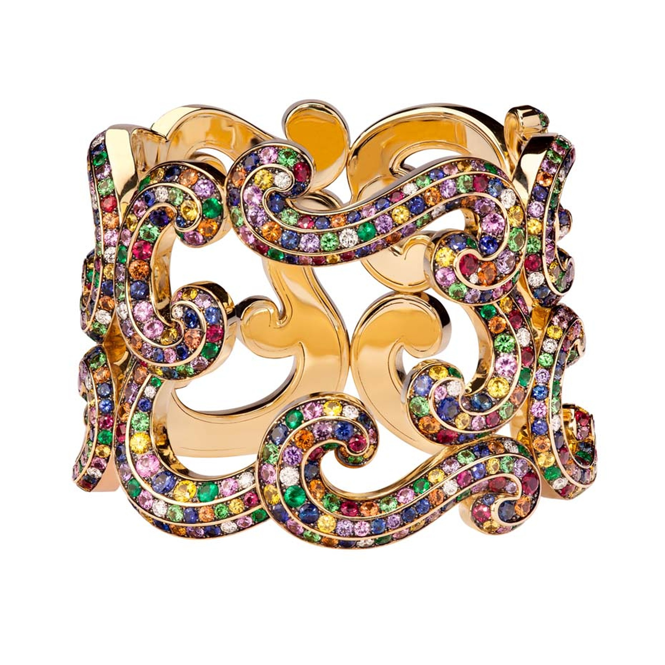 Fabergé Rococo Lace Multi-Coloured bangle.