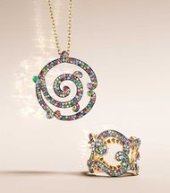 Faberge jewellery: celebrate the art of giving this Christmas with the new Rococo collection